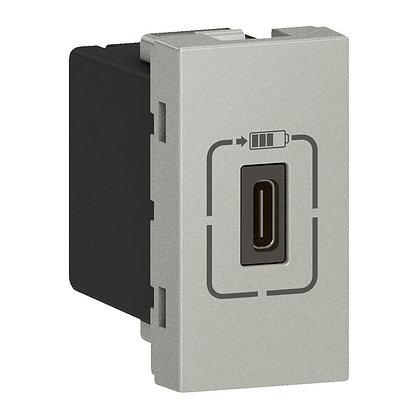 MOSAIC 1 X USB C - 1,5A 1M ALU