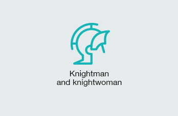 Knightess and knight