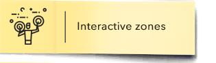 Interactive zones