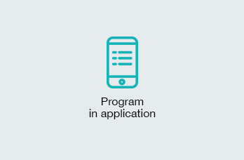 Program in application