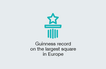 Guiness record on the square