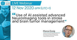 Use of AI assisted advanced NeuroImaging tools in stroke and brain tumor management