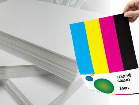 Impresso: Conheça a gramatura do papel couchê