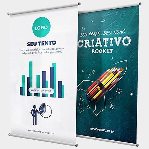 Banner Lona Brilho 120x080