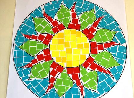 Make your own Roman Mosaic