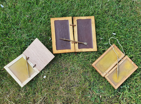 Make your own wax tablet!