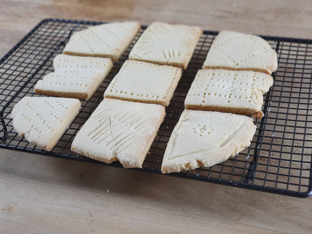 Hallstones! How to make Anglo-Saxon biscuits