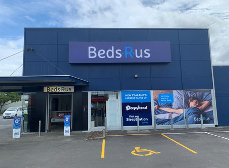 Beds R Us - Light Box / Window Graphics / ACM Signs