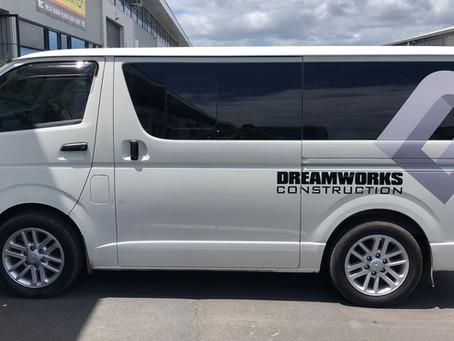 Dream Works Car Decal