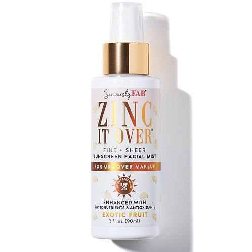 Seriously Fab Zinc It Over Exotic Fruit SPF Mist