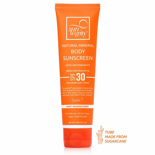 Suntegrity Natural Mineral Body Sunscreen 5 oz - Broad Spectrum SPF 30