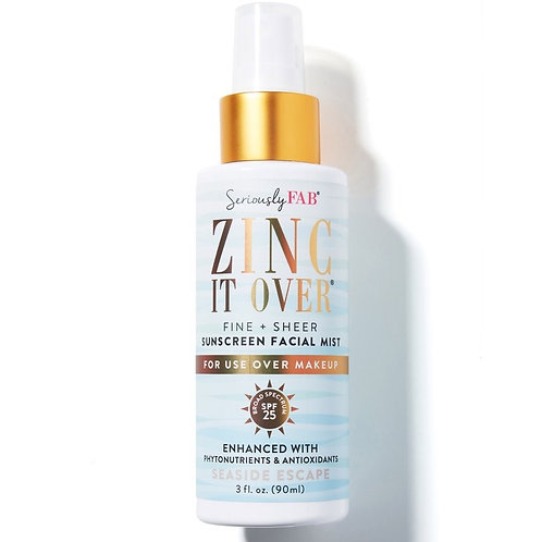 Seriously Fab Zinc It Over Seaside Escape SPF Mist