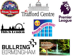 alton towers traford centre bullring blackpool wedding hire days out premier league