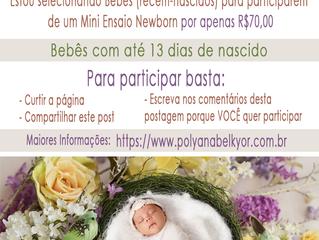 Seleção de Bebês para Portfolio