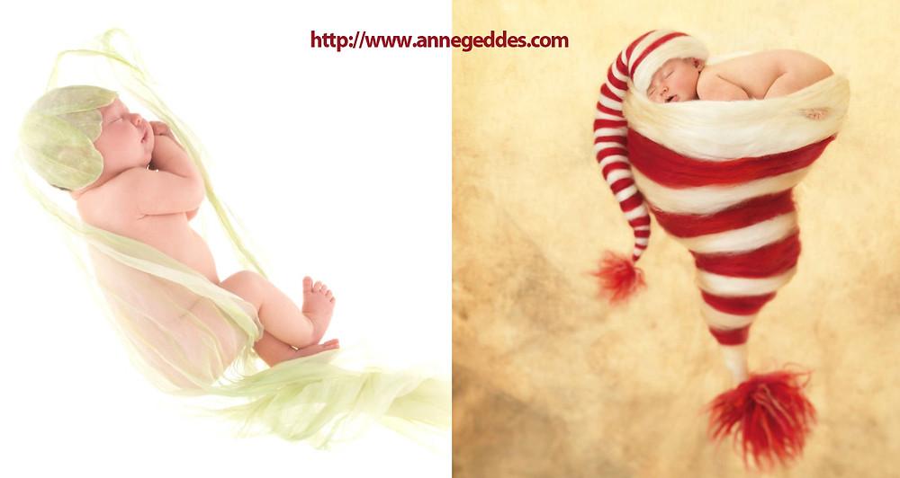 Foto: Anne Geddes - Newborn