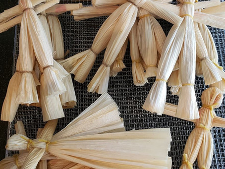 Corn Husk Dolls for Lughnasadh