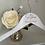 Thumbnail: White personalised Hanger