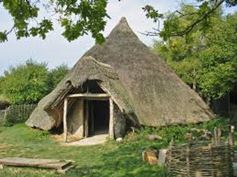 Roundhouse in Ancient Britain