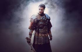 Russell Crowe being Roman