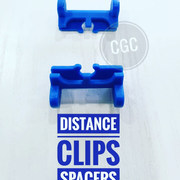 DISTANCE CLIPS SPACERS BLUE
