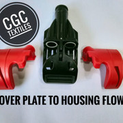 COVER PLATE TO HOUSING FLOW