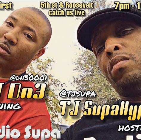 DJ DN3 & TJ SupaHype - Live on Roosevelt Row