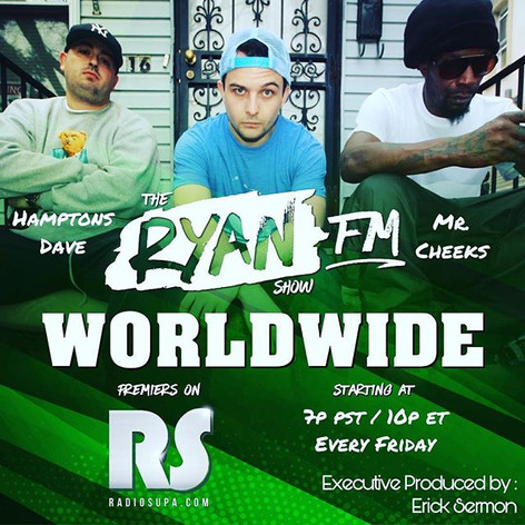 Ryan V, Mr, Cheeks & Hamptons Dave - The Ryan Show