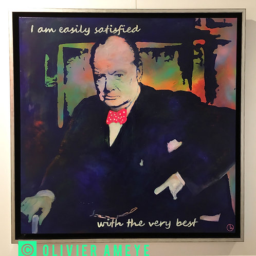 Winston Churchill - OLIVIER AMEYE