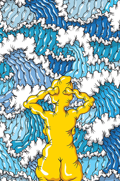 Tangled up in blue   - GUUS VAN LAMOEN