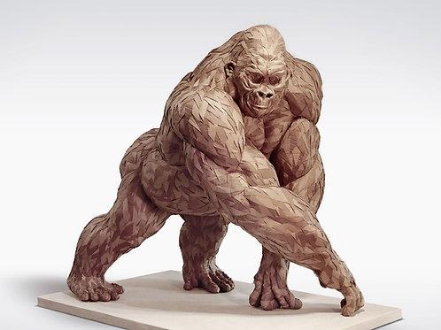 Cardboard Gorilla - OLIVIER BERTRAND