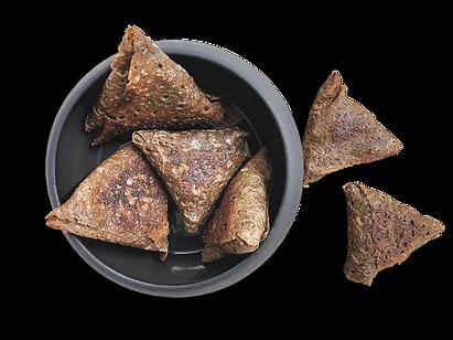 Nos samo de galette à partager à l'aperitif