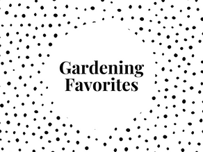 Gardening Things - seeds, tools, and more