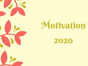 Motivation Monday 2020