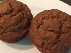 Gluten-free Applesauce Cinnamon Muffins