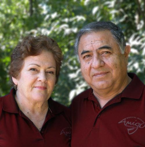 Pastro Tulio and Rosamaria Minera