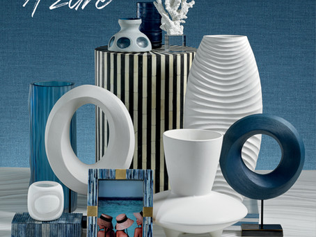 Capture the Natural Beauty of the Coastal Shore with the Azure Collection