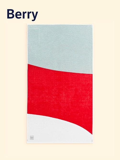 Tucca towel, modelo berry