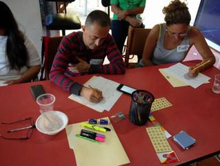 Disfrutamos del taller: Cumpliendo mi propósito del 2017