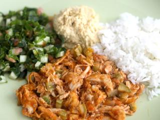 Pollo en salsa con vegetales de Comidología