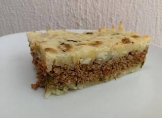 Pastel de yuca y carne molida