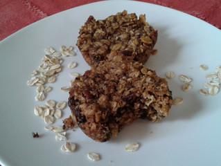 Cronchikeics sin gluten de avena, chocolate y nueces