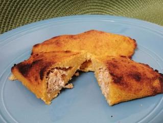 Empanadas de maíz con relleno
