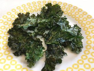 Kale tostado (chips de kale)