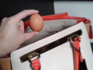 El día que salió un huevo duro de mi cartera