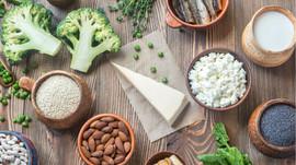 Alimentos altos en calcio para huesos fuertes