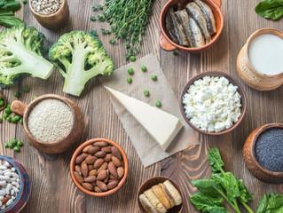 Alimentos altos en calcio (que no son lácteos) para huesos fuertes