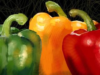 Comé un arcoíris – nutrientes en frutas y vegetales coloridos