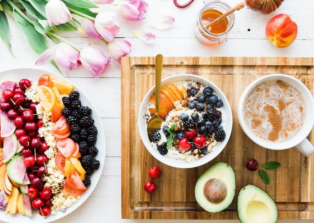 Foto de comida saludable