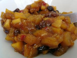 Chutney de mango y tamarindo