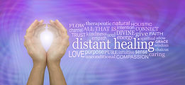 High Frequency Distant healing Word Tag